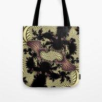 Leaf fractal Tote Bag