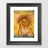 Hushpuppy Framed Art Print