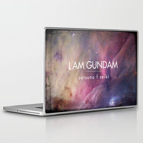 Gundam Retro Space 2 Laptop & iPad Skin