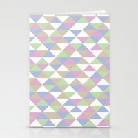 Triangle Pattern #3 Stationery Cards