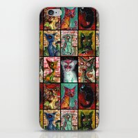 9 Zombie Cats Version 2 iPhone & iPod Skin