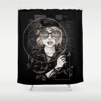 Dangerous Mind Shower Curtain