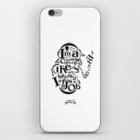 Sherlock Goes Typography… iPhone & iPod Skin