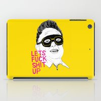 F*ck Sh*t Up iPad Case