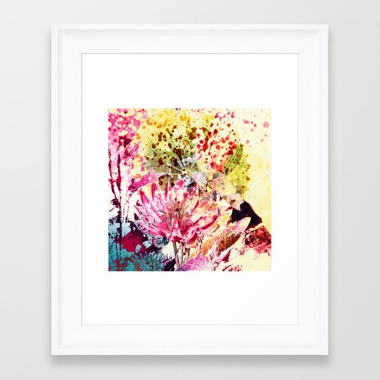 waterlily Framed Art Print