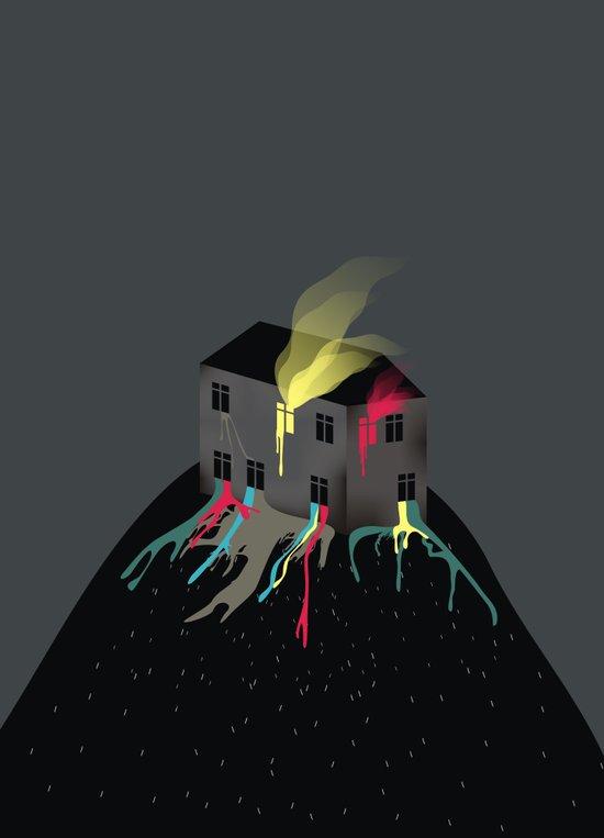 Emotional Home Canvas Print