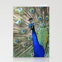 Strutting Peacock Stationery Cards