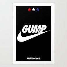 Gump- JustDoIt Art Print