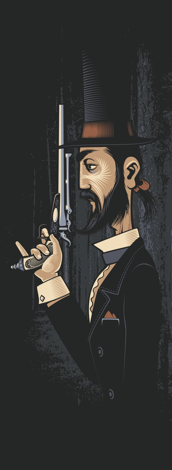 Pistols At Dawn: Mr Colebrook Art Print