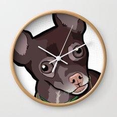 Taco T. Man (Chihuahua) Wall Clock