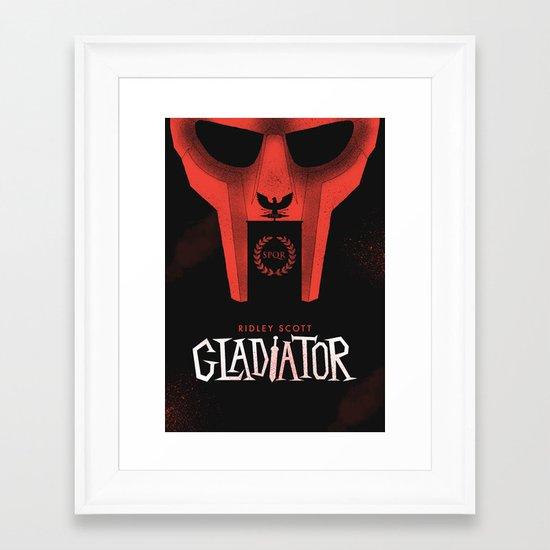 Gladiator Framed Art Print