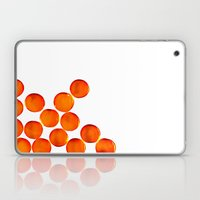 Crystal Balls Orange Laptop & iPad Skin