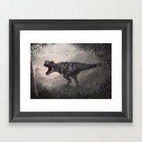 Tyrannosaurus Rex Framed Art Print