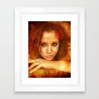 Badly Drawn Girl Framed Art Print