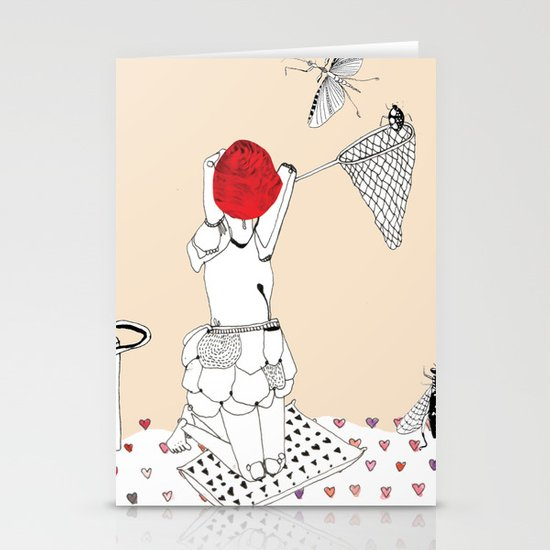 Catch more flies with honey... Stationery Card