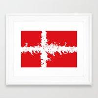 in to the sky, Denmark  Framed Art Print