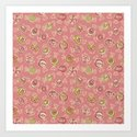 candy (soft pink) Art Print