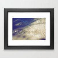 Soft Waves Framed Art Print