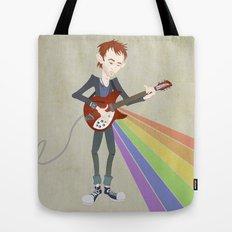 Radiohead Thom in Rainbows Tote Bag