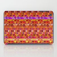 Fire Diamond Pattern iPad Case