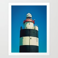 Hook Lighthouse, Co. Wexford Art Print