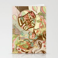 I Dream In Color Stationery Cards