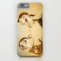 iPhone & iPod Case featuring Phone by José Luis Guerrero