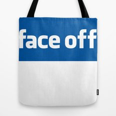 2010 - Face Off Tote Bag