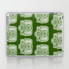 I Still Shoot Film Holga Logo - Reversed Green Laptop & iPad Skin