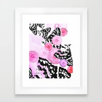 Camellia Blush Framed Art Print