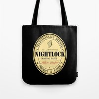 Lovely day for a Nightlock Tote Bag