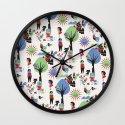 Beautiful day pattern Wall Clock