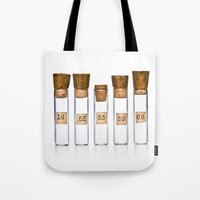 Lab Vials Tote Bag