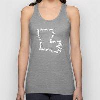 Ride Statewide - Louisiana Unisex Tank Top