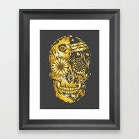 C3P GOLD Framed Art Print