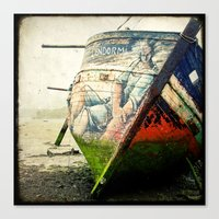 Boat Wreck #12 Canvas Print