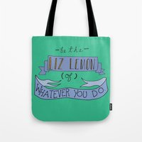 Liz Lemon Tote Bag