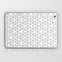 Karthuizer Grey & White Pattern Laptop & iPad Skin