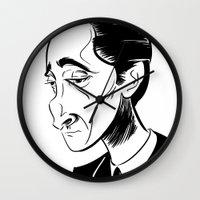 Adrien Brody Wall Clock