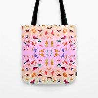 Triangle Tropical Confet… Tote Bag