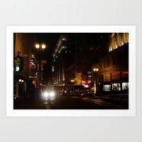 Down Town San Fran Art Print
