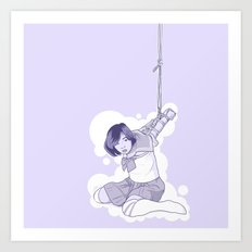 tied and tested Art Print