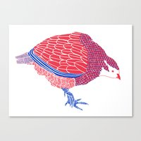 Pretty Partridge Canvas Print