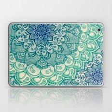 Emerald Doodle Laptop & iPad Skin