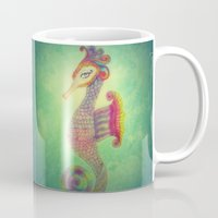 Seahorse Lady Mug