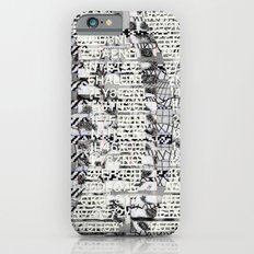 The Eternal Return Of The Unique Event (P/D3 Glitch Collage Studies) Slim Case iPhone 6s