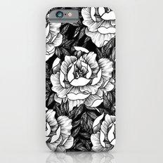 Om Flower Black iPhone 6 Slim Case