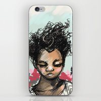 The Most Beautiful Flowe… iPhone & iPod Skin