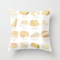 Cheese Revamp Throw Pillow