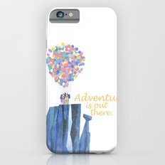 adventure is out there.. cursive iPhone 6s Slim Case